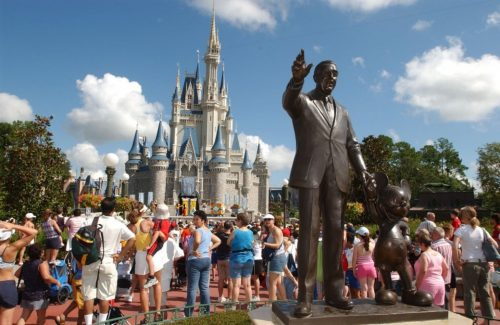 Crowded Holidays Walt Disney World