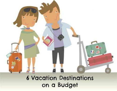 Vacation Destinations Budget