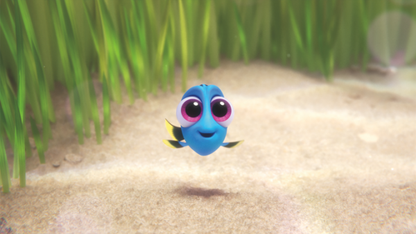 #FindingDory Baby Dory