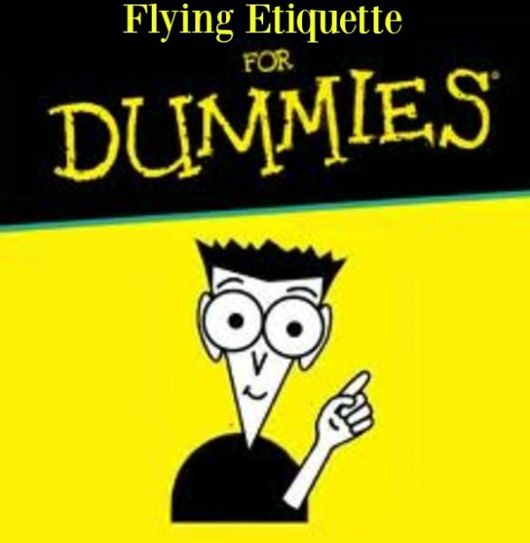 Flying Etiquette Dummies