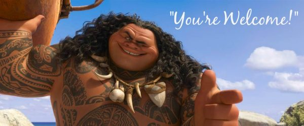 Maui You're Welcome Moana