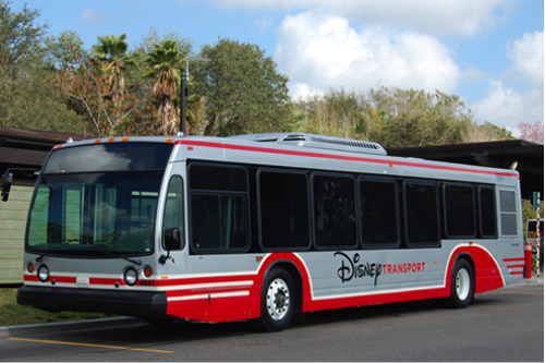 Optional Express Bus Transportation Park Hopping WDW