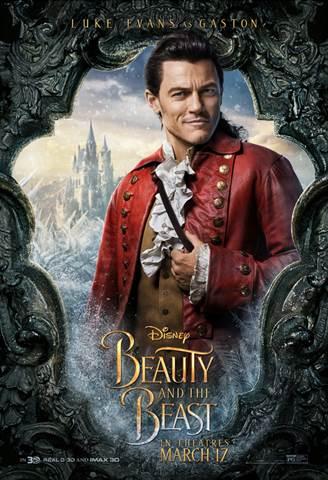 Beauty Beast Gaston Clip