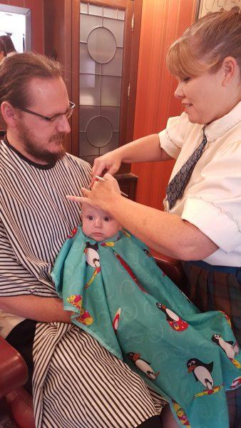 First Haircut Harmony Barber Shop Magic Kingdom