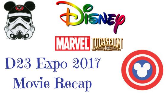 Disney Marvel Lucasfilm D23 Recap