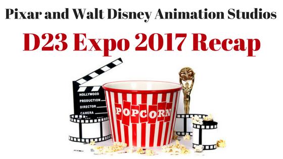 Pixar Disney Animation D23 Recap