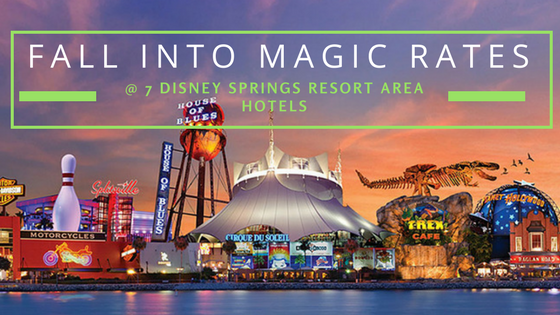 Disney Springs Resorts Fall Special Rates
