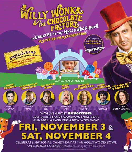 Willy Wonka Chocolate Factory Live