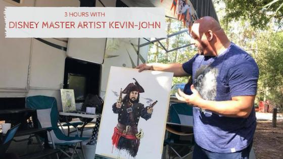 Disney Master Artist Kevin John
