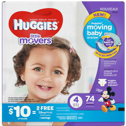 Huggies Diapers Disney Music