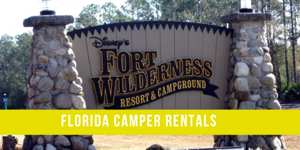 Florida Camper Rental Fort Wilderness