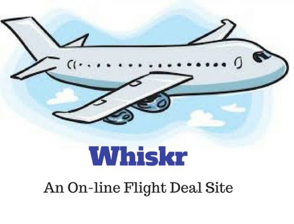 Whiskr Flexible Flight Fares