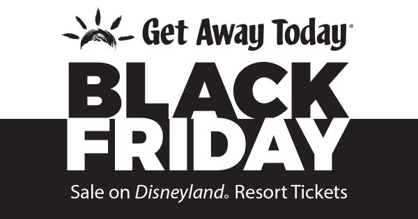 Disneyland Ticket Black Friday Sale
