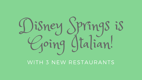 Italian Restaurants Disney Springs