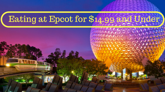 Budget Eating Epcot