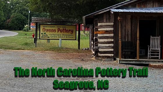 North Carolina Pottery Trail Seagrove