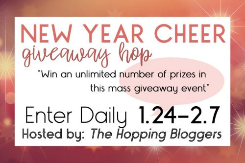 New Year Cheer Giveaway Hop