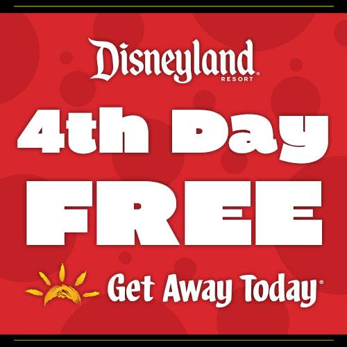Get Away Today Huge Ticket Sale Disneyland