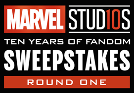 marvel studios sweepstakes