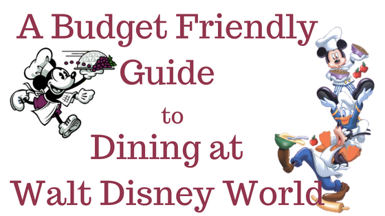budget dining wdw
