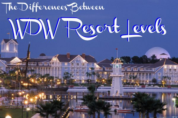 Differences WDW Resorts
