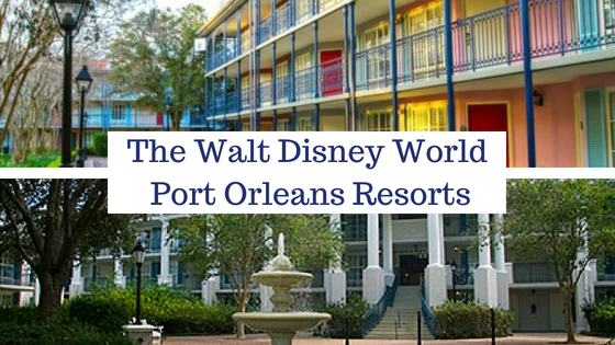 port orleans resorts wdw