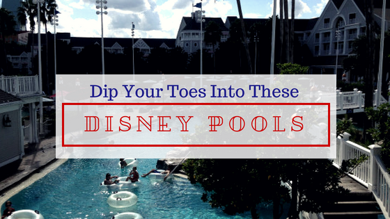 resort pools walt disney world