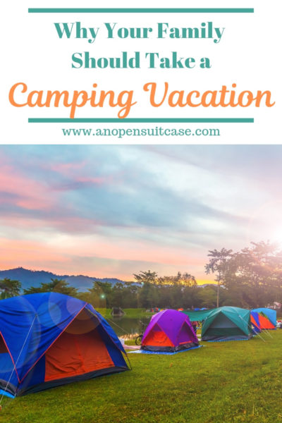 camping family vacation
