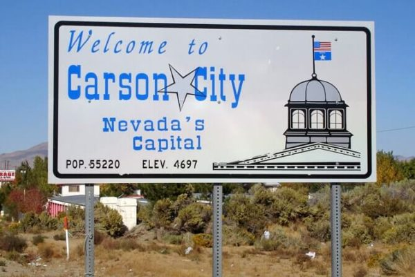 Carson City Nevada Things To Do An Open Suitcase