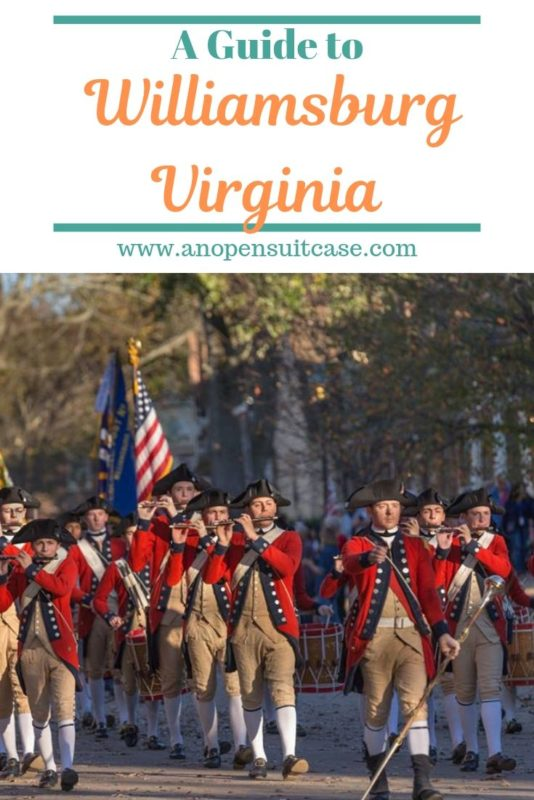 williamsburg virginia guide
