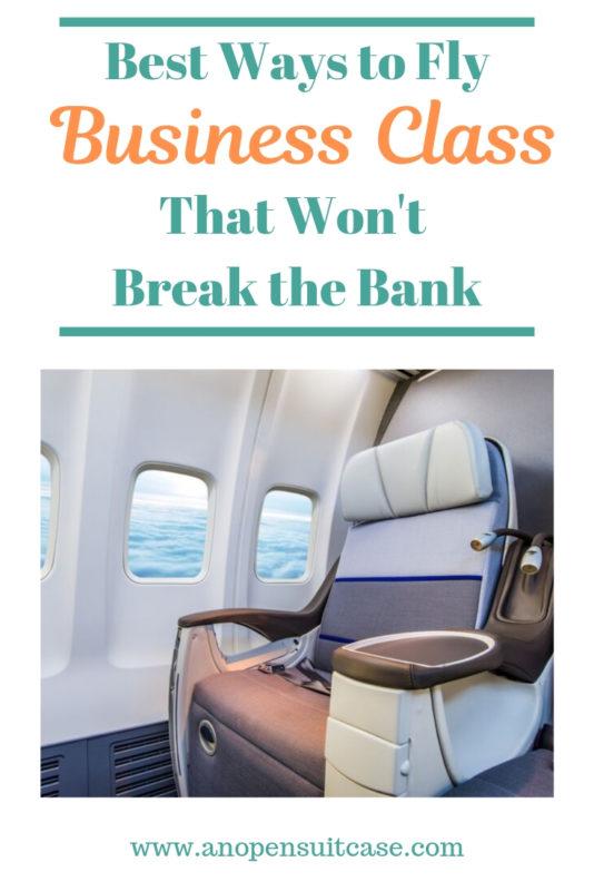 business class flights