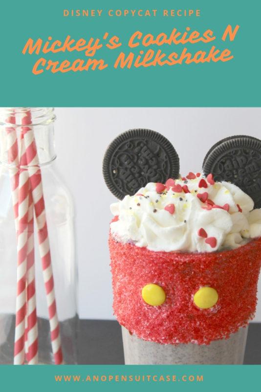 Mickeys Cookies Cream Milkshake