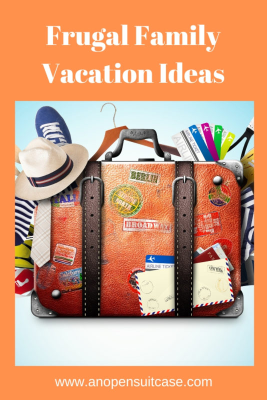 Frugal Family Vacation Ideas