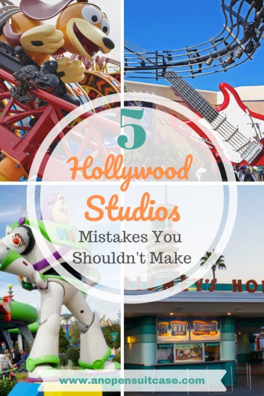 day at hollywood studios
