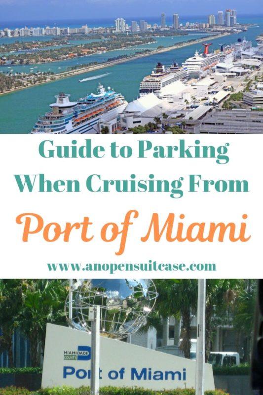 Port Miami Cruise Parking