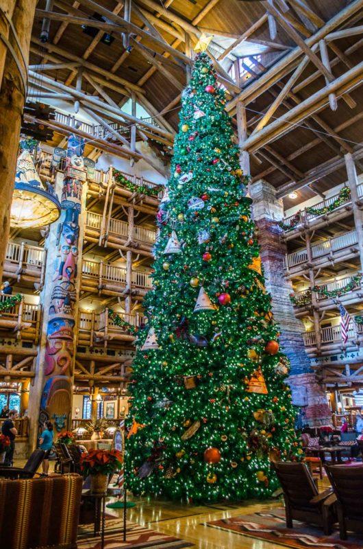 WDW Christmas Trees