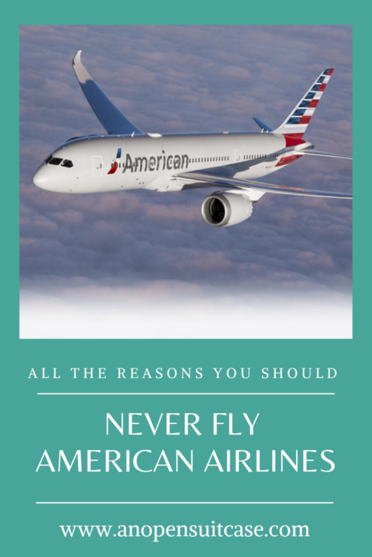 Dont Fly American Airlines