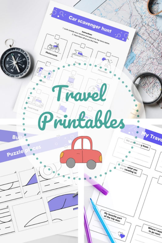 Travel Printables