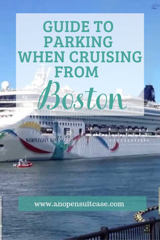 Parking Boston Cruise Port