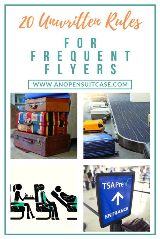 rules for frequent flyers