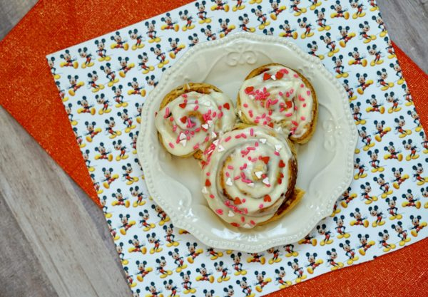 Mickey Mouse Cinnamon Rolls