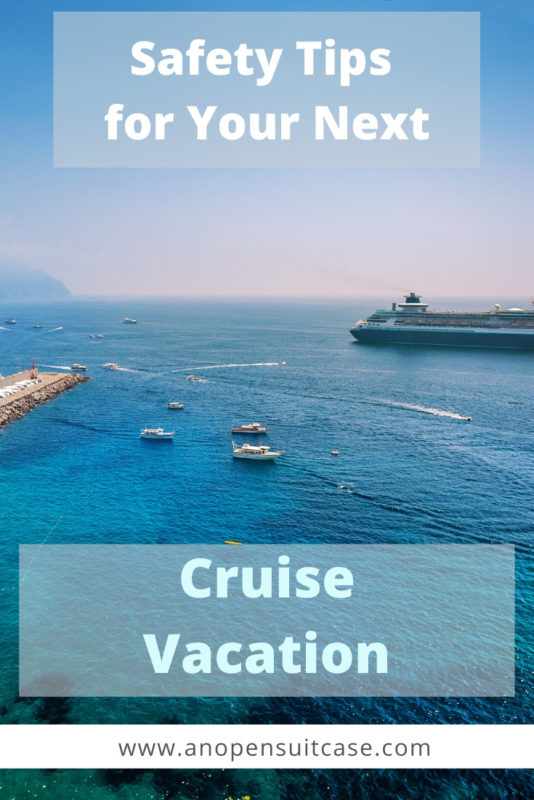 cruise vacation safety tips