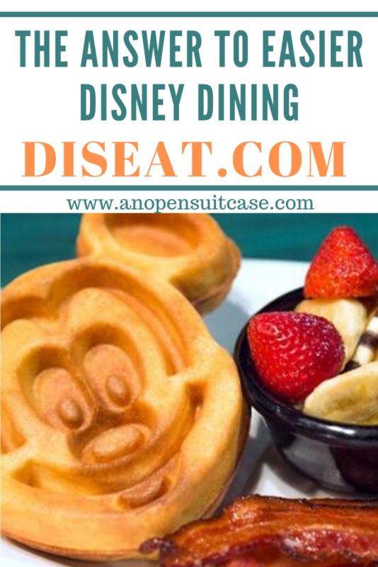 DisEat Disney Dining Reservations