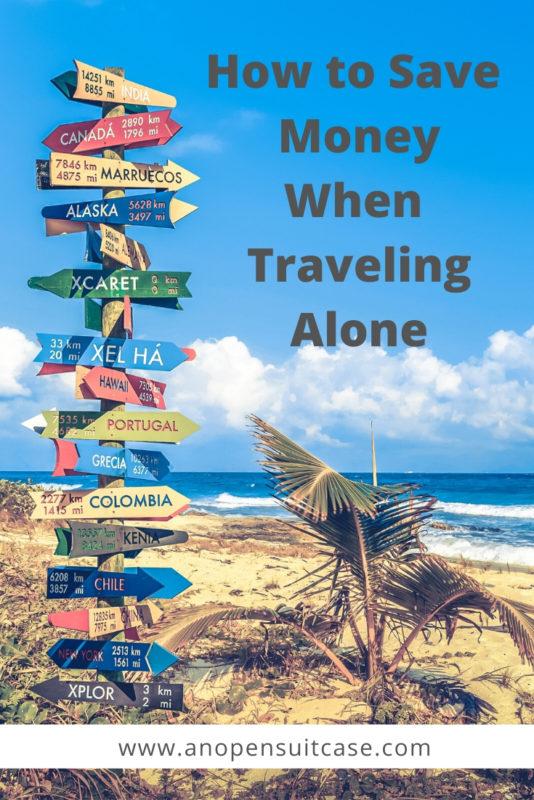 save money traveling alone