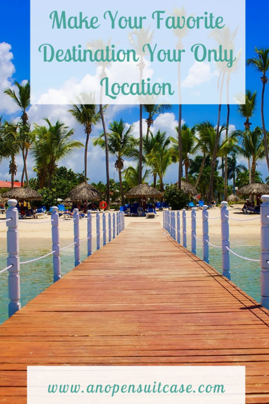 Make favorite destination Location