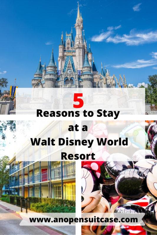 benefits of staying wdw resorts