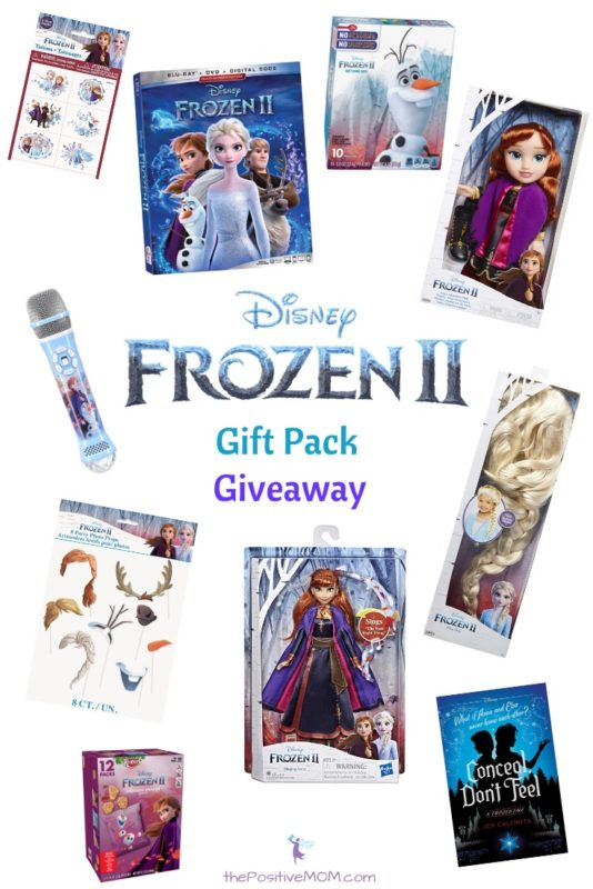 Disneys Frozen 2 Gift Pack Giveaway