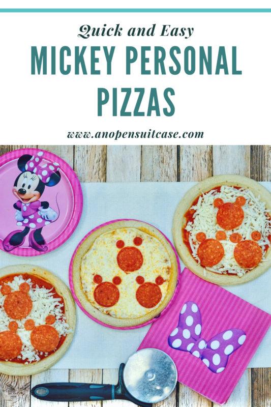 Mickey Personal Pizza Recipe