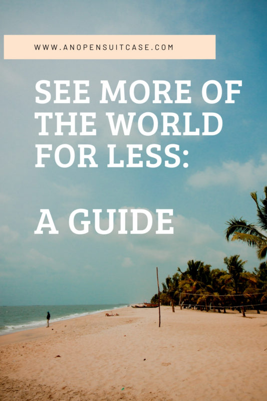 guide to cheaper travel