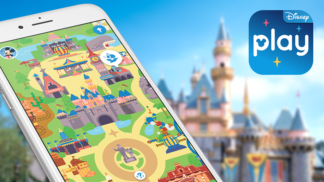 Using Disney Mobile Technology